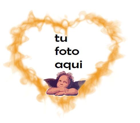 Ángel Del Amor Marco Para Foto - Ángel Del Amor Marco Para Foto