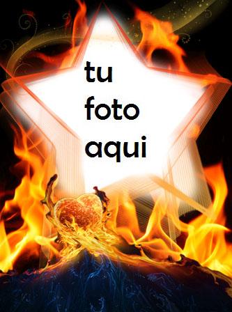 Eres Una Estrella Ardiente Para Todos Marco Para Foto - Eres Una Estrella Ardiente Para Todos Marco Para Foto