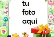 Feliz Cumpleaños A Los Niños Marco Para Foto 220x150 - Feliz Cumpleaños A Los Niños Marco Para Foto