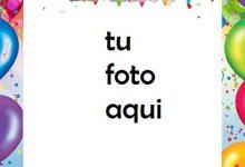 Feliz Cumpleaños Con Globos Y Decoraciones Marco Para Foto 220x150 - Feliz Cumpleaños Con Globos Y Decoraciones Marco Para Foto