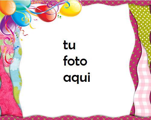 Feliz Cumpleaños Decoraciones De Fiesta Marco Para Foto - Feliz Cumpleaños Decoraciones De Fiesta Marco Para Foto