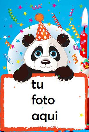Feliz Cumpleaños Oso Marco Para Foto - Feliz Cumpleaños Oso Marco Para Foto
