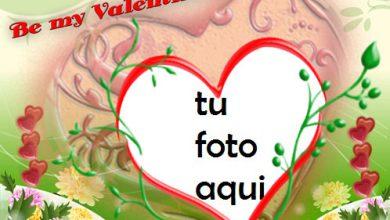 Feliz Día De San Valentin Marco Para Foto 390x220 - Feliz Día De San Valentin Marco Para Foto