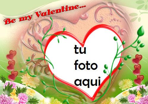 Feliz Día De San Valentin Marco Para Foto - Feliz Día De San Valentin Marco Para Foto