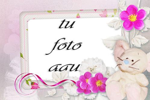 Flores Y Jazmín Marco Para Foto - Flores Y Jazmín Marco Para Foto