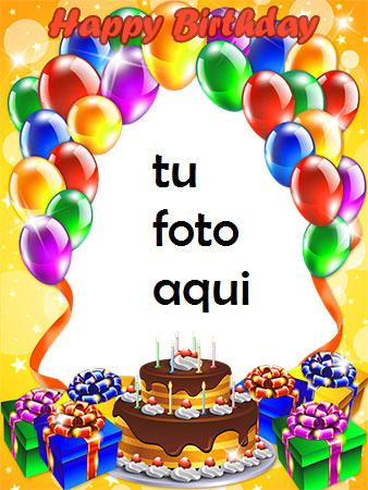 Hermoso Pastel De Feliz Cumpleaños Marco Para Foto - Hermoso Pastel De Feliz Cumpleaños Marco Para Foto