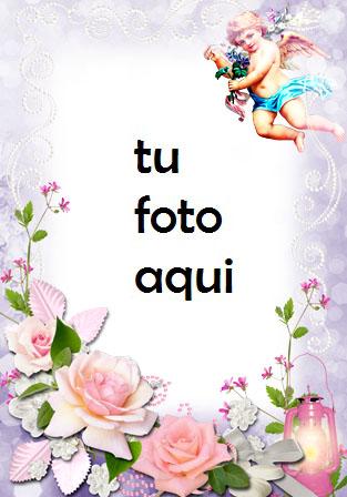 Mensajero De Amor Y Romance. Marco Para Foto - Mensajero De Amor Y Romance. Marco Para Foto