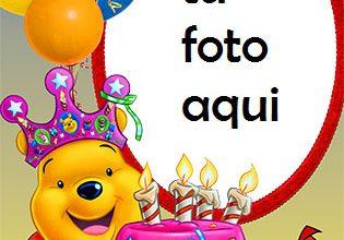 Pastel De Feliz Cumpleaños Con Osito De Peluche Marco Para Foto 315x220 - Pastel De Feliz Cumpleaños Con Osito De Peluche Marco Para Foto
