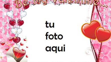 Photo of Se Mi Amante El Día De San Valentín Marco Para Foto