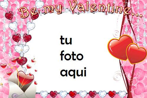 Se Mi Amante El Día De San Valentín Marco Para Foto - Se Mi Amante El Día De San Valentín Marco Para Foto