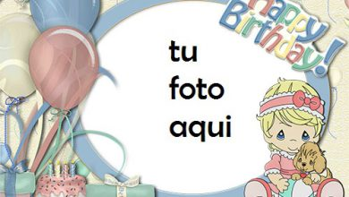 Photo of Tarjeta De Feliz Cumpleaños Niña Marco Para Foto