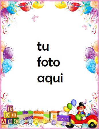 Tren Regalos Feliz Cumpleaños Para Niños Marco Para Foto - Tren Regalos Feliz Cumpleaños Para Niños Marco Para Foto