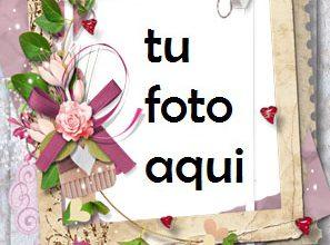 Photo of Tu Eres Mi Unico Amor Por Siempre Marco Para Foto