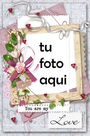 Tu Eres Mi Unico Amor Por Siempre Marco Para Foto - Tu Eres Mi Unico Amor Por Siempre Marco Para Foto