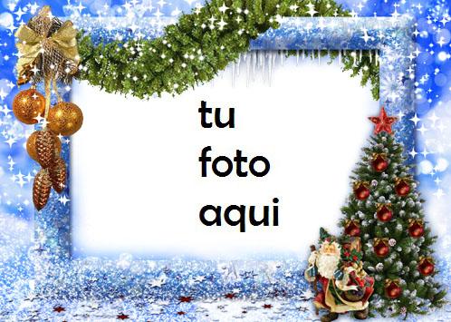 Árbol De Año Nuevo Marco Para Foto - Árbol De Año Nuevo Marco Para Foto