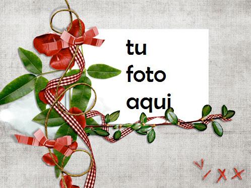 Árbol De Amor Feliz Marco Para Foto - Árbol De Amor Feliz Marco Para Foto