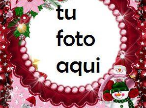 Año Nuevo Divertido Marco Para Foto 297x220 - Año Nuevo Divertido Marco Para Foto