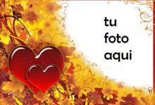 Ama y cae con grandes corazones rojos Marco Para Foto 220x150 - Ama y cae con grandes corazones rojos Marco Para Foto