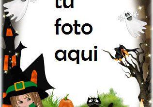 Ambiente Horrible De Halloween Marco Para Foto 316x220 - Ambiente Horrible De Halloween Marco Para Foto