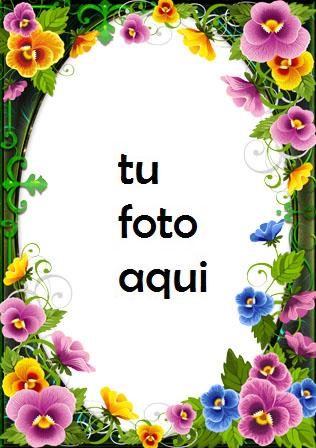 Amor Flores Y Corazones Amables Marco Para Foto - Amor Flores Y Corazones Amables Marco Para Foto