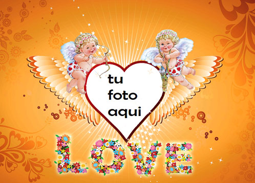 Angelitos De Amor Marco Para Foto - Angelitos De Amor Marco Para Foto