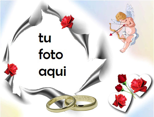 Anillo De Compromiso Y Anillo De Bodas Marco Para Foto - Anillo De Compromiso Y Anillo De Bodas Marco Para Foto