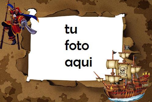 Barco Pirata Marcos Para Foto 1 - Barco Pirata Marcos Para Foto