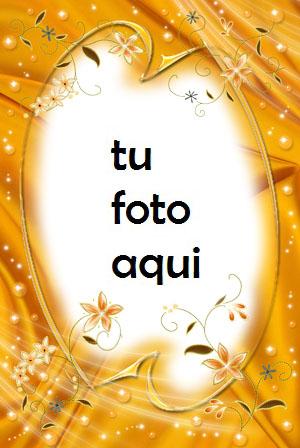 Brillo Amarillo Marco Para Foto - Brillo Amarillo Marco Para Foto