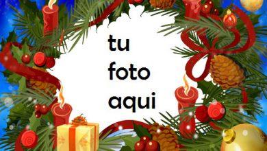 Photo of Cajas De Regalo De Año Nuevo Y Hermosas Bolas Doradas Marco Para Foto