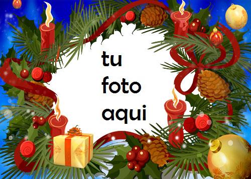 Cajas De Regalo De Año Nuevo Y Hermosas Bolas Doradas Marco Para Foto - Cajas De Regalo De Año Nuevo Y Hermosas Bolas Doradas Marco Para Foto