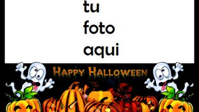 Calabaza Horrible Te Deseo Un Feliz Halloween Marco Para Foto 390x220 - Calabaza Horrible Te Deseo Un Feliz Halloween Marco Para Foto