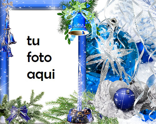 Campanas De Año Nuevo Marco Para Foto - Campanas De Año Nuevo Marco Para Foto