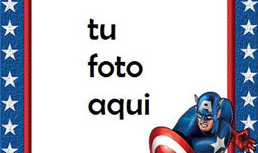Capitán América Marcos Para Foto 371x220 - Capitán América Marcos Para Foto