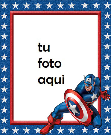 Capitán América Marcos Para Foto - Capitán América Marcos Para Foto