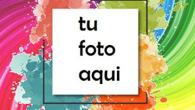 Photo of Colores Para Los Momentos Felices Más Bellos. Marco Para Foto