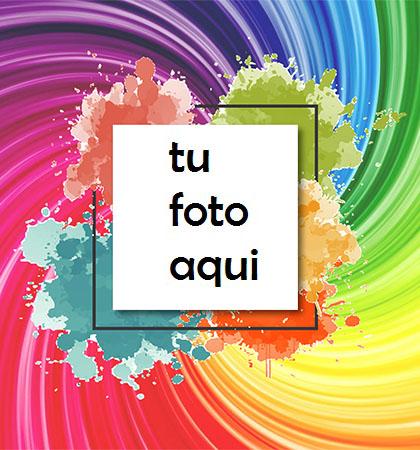 Colores Para Los Momentos Felices Más Bellos. Marco Para Foto - Colores Para Los Momentos Felices Más Bellos. Marco Para Foto