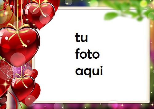 Corazones Colgando De Amor Marco Para Foto - Corazones Colgando De Amor Marco Para Foto