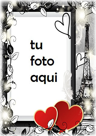Corazones Románticos De San Valentín Marco Para Foto - Corazones Románticos De San Valentín Marco Para Foto