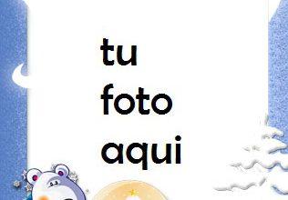 Photo of Cuento De Invierno De Año Nuevo Marco Para Foto