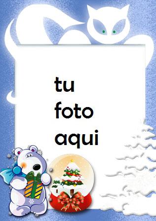 Cuento De Invierno De Año Nuevo Marco Para Foto - Cuento De Invierno De Año Nuevo Marco Para Foto