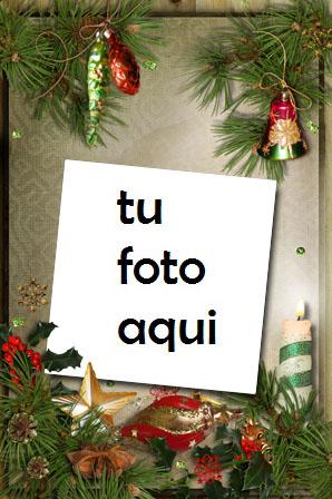 Decoración De Año Nuevo Marco Para Foto - Decoración De Año Nuevo Marco Para Foto
