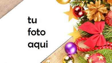 Photo of Decoraciones De Año Nuevo Marco Para Foto