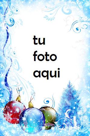 Decoraciones Heladas De Invierno Marco Para Foto - Decoraciones Heladas De Invierno Marco Para Foto