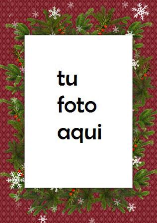 Decoraciones Navideñas Vintage Marco Para Foto - Decoraciones Navideñas Vintage Marco Para Foto