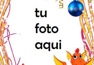 Photo of Decoraciones Y Campanas De Año Nuevo Marco Para Foto