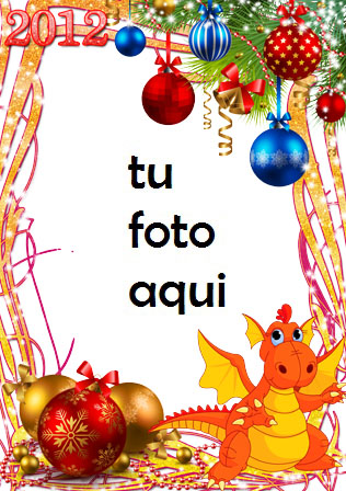 Decoraciones Y Campanas De Año Nuevo Marco Para Foto - Decoraciones Y Campanas De Año Nuevo Marco Para Foto