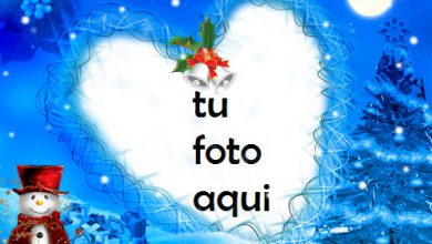 Photo of Desea Ua Feliz Navidad Marco Para Foto