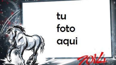 Photo of El Año Del Caballo De Madera Marco Para Foto