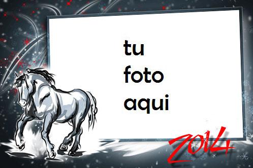 El Año Del Caballo De Madera Marco Para Foto - El Año Del Caballo De Madera Marco Para Foto