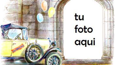 El Matrimonio Del Coche Marco Para Foto 390x220 - El Matrimonio Del Coche Marco Para Foto